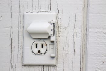 Electrical Outlets should be covered to help keep your house safe.